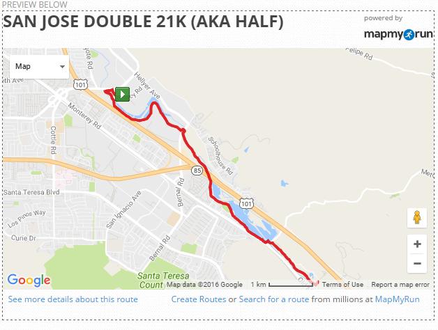 Double 21K 10 Mile Leg